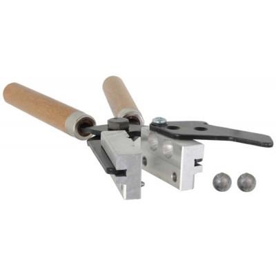 Forma / Coquilha para Confecção de Chumbinhos Esféricos Artesanais 9mm