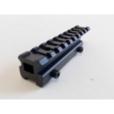 Adaptador de trilhos de 11mm para 20mm - Modelo A