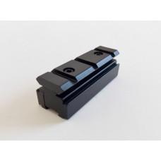 Adaptador de trilhos de 11mm para 20mm - Modelo C