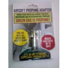 Adaptador para Gas Propano ou Propileno Airsoft