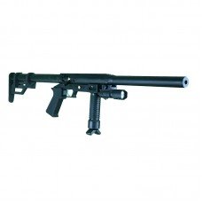 Carabina/Pistola PCP Caçadora Leve 5,5mm com Supressor Sobrecano