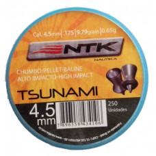 Chumbo Tsunami - Nautika 4,5mm (.177) - 9.79 grains - 250 un