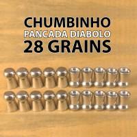 Chumbinho Pancada Diabolo 5.5mm - 28 grains - 110 Unidades