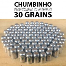 Chumbinho Pancada Diabolo 5.5mm - 30 grains - 100 Unidades