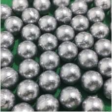 Munição Esférica 9mm em chumbo para Estilingues 4,5 gramas - 200 esferas